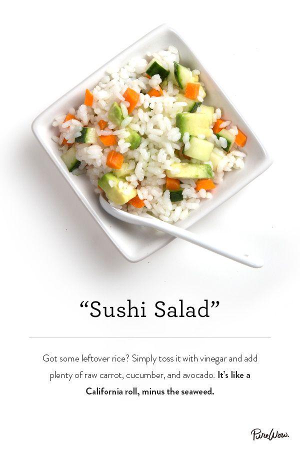 Sushi Salad via @PureWow