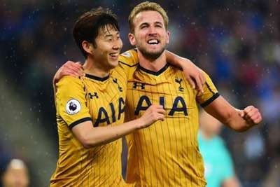 Four goals from Harry Kane and two from Son Heung-min helped Tottenham to a 6-1 battering of Leicester City in their penultimate Premier League match of the season on Thursday.  England international Kane moved to 26 in the top flight for this season  putting him two ahead of Romelu Lukaku in the Golden Boot standings  while Son took his tally to 21 goals in all competitions in the emphatic victory.  The hammering puts Spurs on 83 points for 2016-17 three more than Leicester managed when…