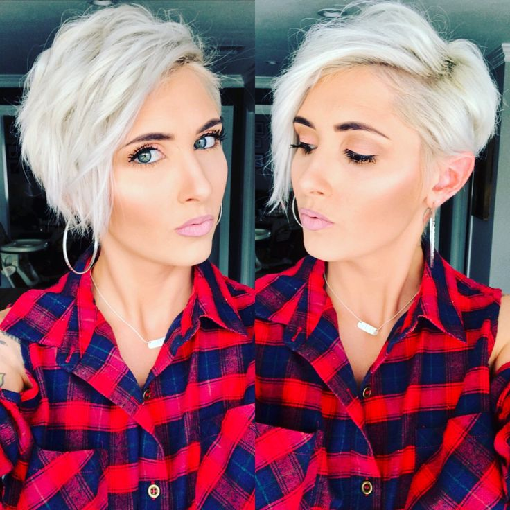 Red flannel blonde pixie platinum pixie short pixie platinum blonde pixie pixie haircut waves pixie cut
