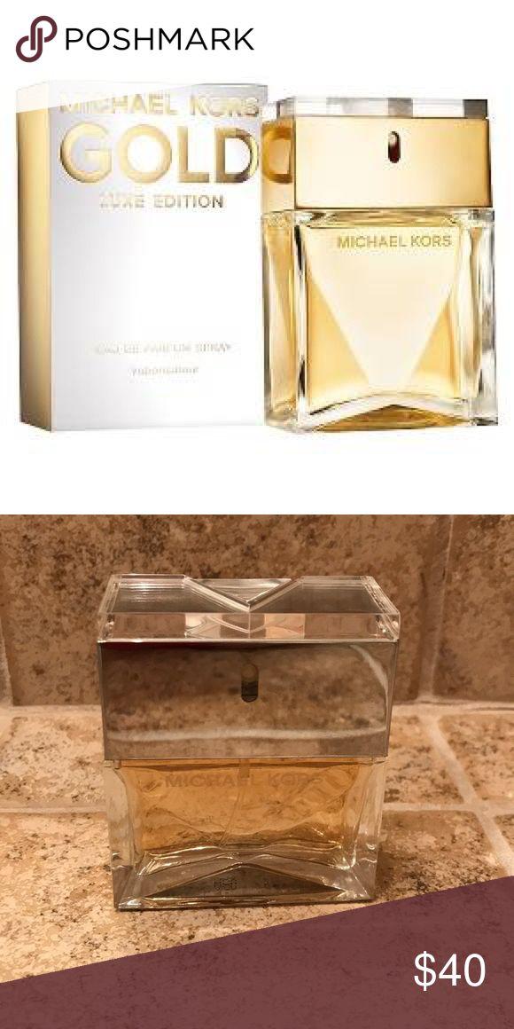 Michael Kors eau de parfum Gold Luxe Edition.  Only sprayed a couple times. Michael Kors Other