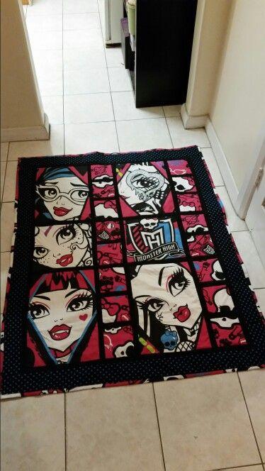Monster High quilt