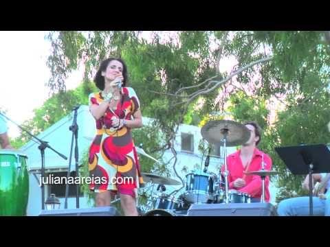 Juliana Areias - Brazilian Jazz Australia - Num corpo so / Malemolencia/ Mare Cheia / Aquele abraco