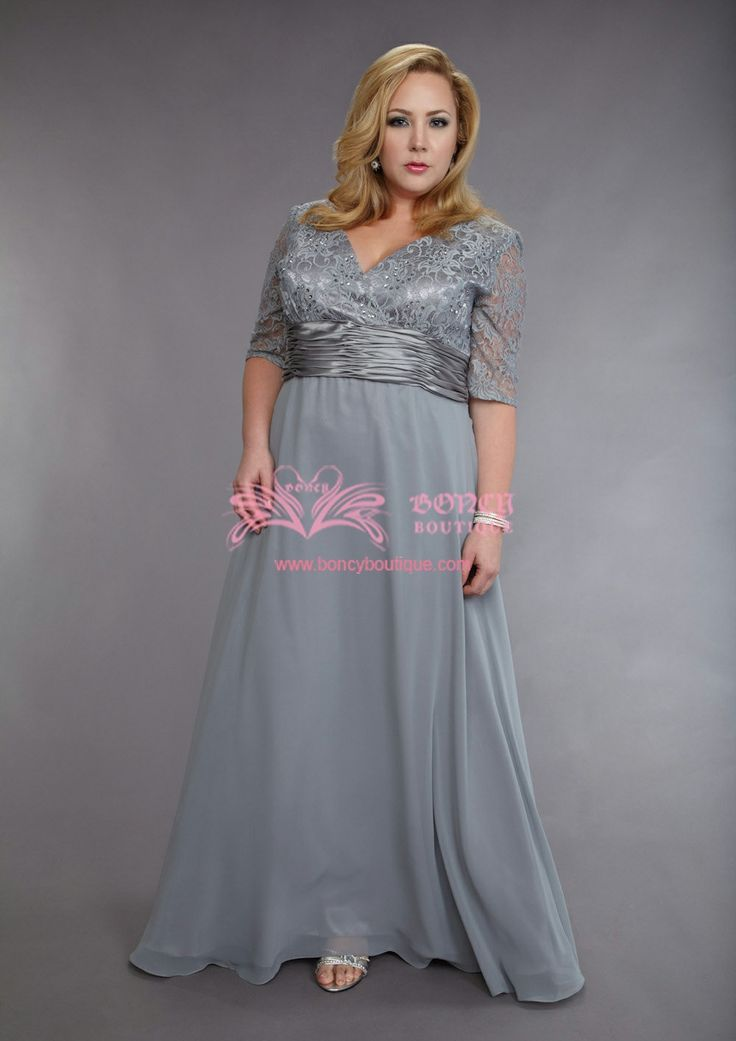 17 best images about mother of the bride or groom plus for Plus size wedding dresses for mother of the groom