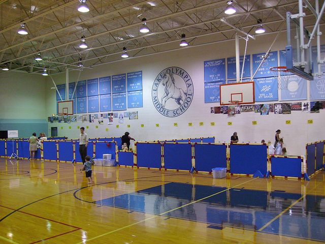 Play Panels for Classrooms in Gymnasium | Flickr - Photo Sharing!