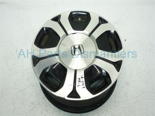 "Used 2013 Honda Civic Rear driver WHEEL/RIM, 15"" 10 spoke LIGHT SCRATCHES 42700-TR2-A81 42700TR2A81. Purchase from https://ahparts.com/buy-used/2013-Honda-Civic-Rear-driver-WHEEL-RIM-15-10-spoke-42700-TR2-A81-42700TR2A81/108753-1?utm_source=pinterest"