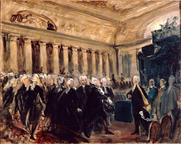 Mirabeau devant Dreux-Brézé (23 juin 1789).