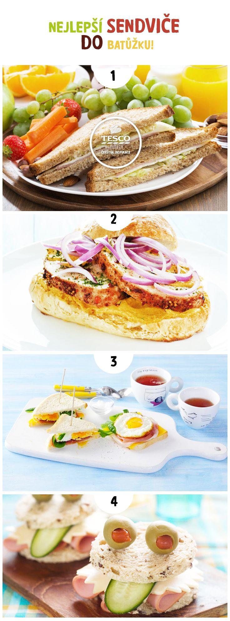 Připravte úžasné dětské sendviče do batůžku!