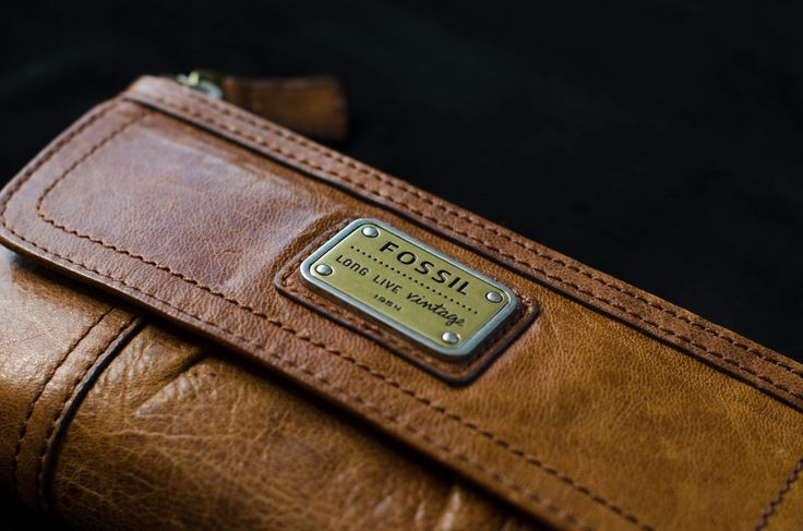 Brand new vintage #fossil #leather #wallet