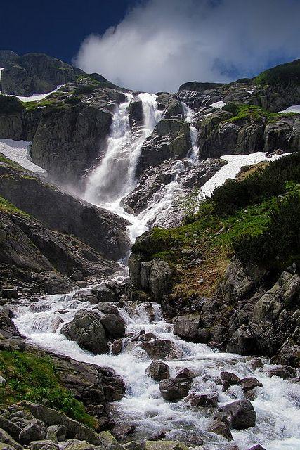 Tatry - Siklawa waterfall - Slovakia
