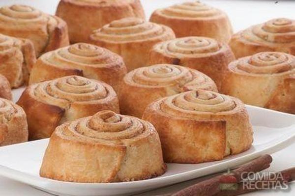 Receita de Cinnamon roll em receitas de maquina de pao, veja essa e outras receitas aqui!