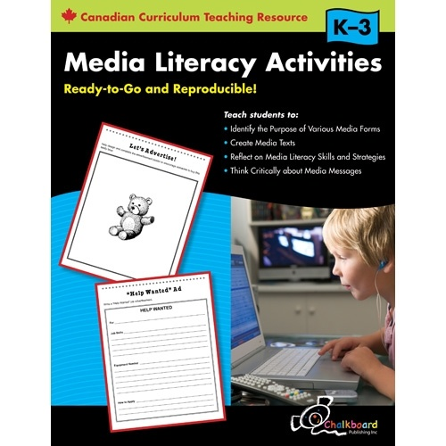 Media Literacy Activities K-3 - Scholar's Choice Teachers Store