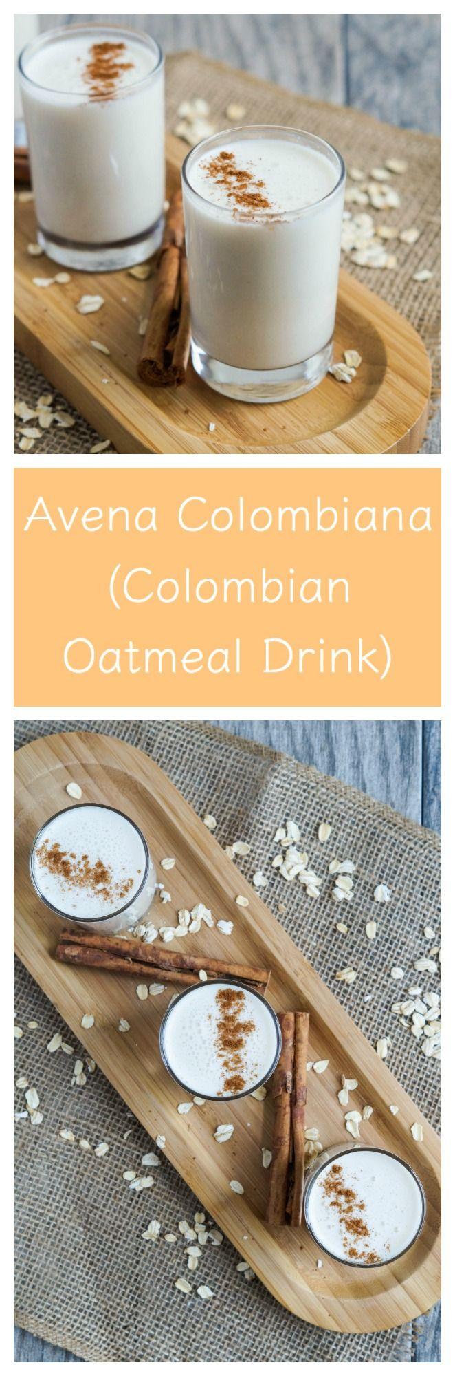 Avena Colombiana (Colombian Oatmeal Drink)