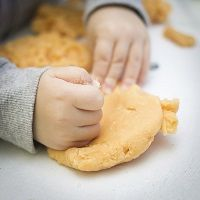 Kids love to get their hands into things, and some children learn much better by doing things rather than just listening to  others. This type of learning is called tactile learning.
