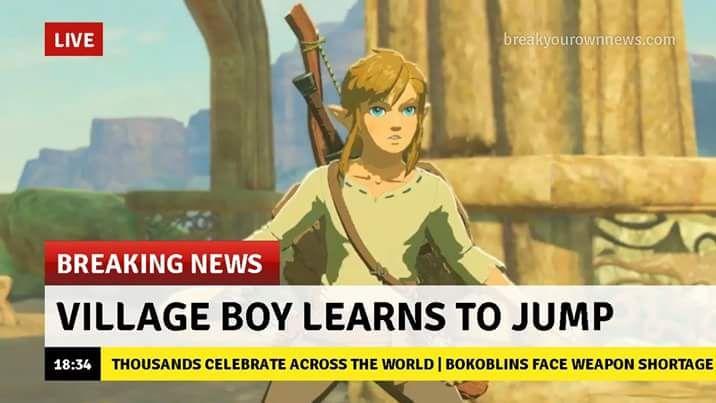 Zelda E3 reveal memes - Imgur