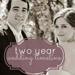 A two year wedding planning timeline for 2 year engagements or long engagement. Great guide to planning a wedding timeline and what you need to get done. PDF & printer friendly wedding planning checklist.