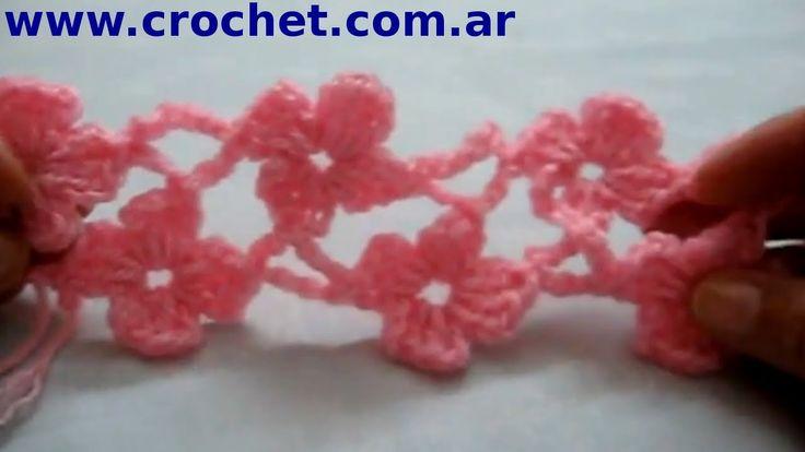 Punto Margarita (Parte 4) en tejido crochet tutorial paso a paso . ✿⊱╮Teresa Restegui http://www.pinterest.com/teretegui/✿⊱╮