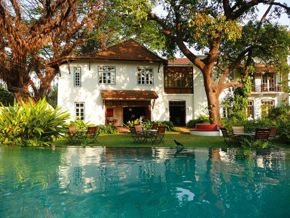 Old Harbour hotel, Cochin, Kerala, Indie