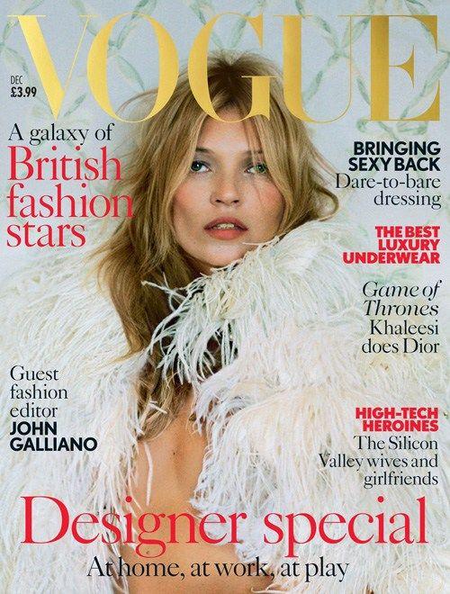 Vogue December #KateMoss