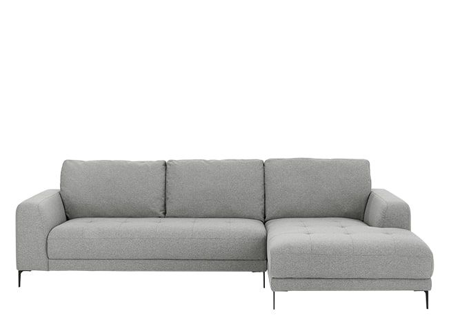 Luciano Right Hand Facing Chaise End Corner Sofa Mountain Grey Corner Sofa Sofa L Shaped Sofa