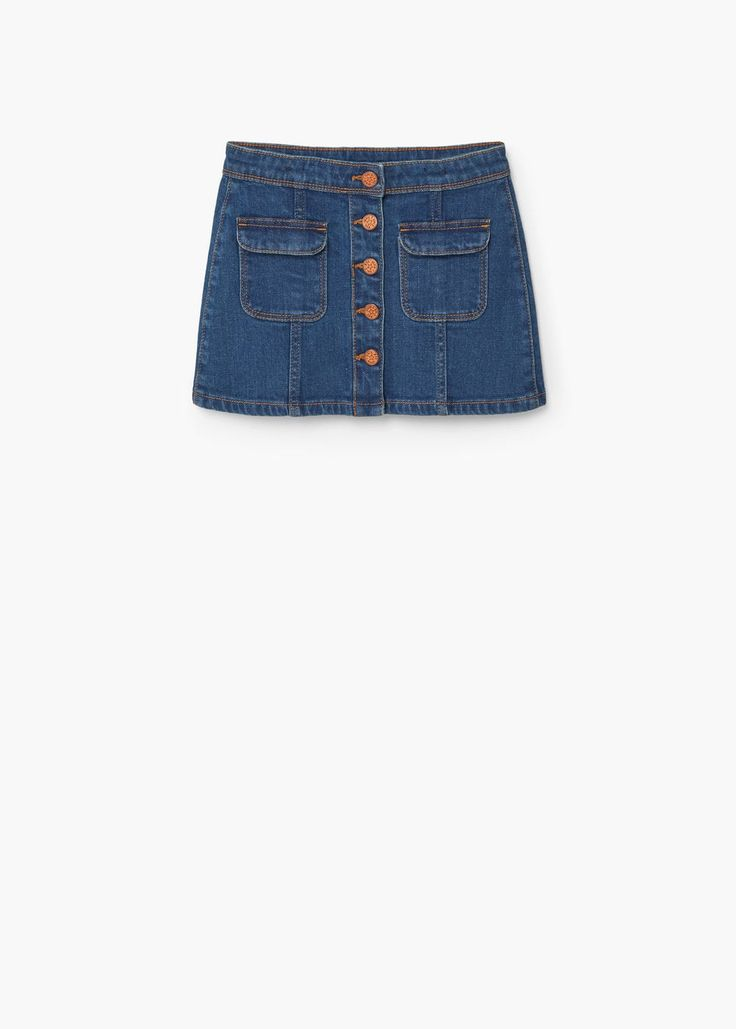 Medium denim skirt | MANGO KIDS