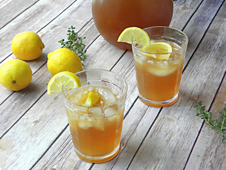 http://www.thebantingchef.co.za/recipes/drinks/lemonthymeicedtea.html