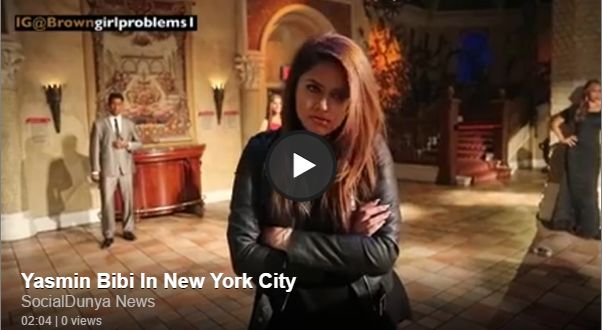 Yasmin Bibi In New York City - Social Dunya News