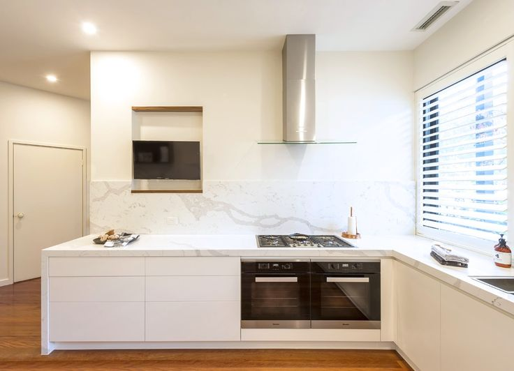 Port Melbourne, kitchen, stone, Miele