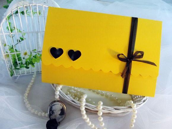 Convite Dois Corações