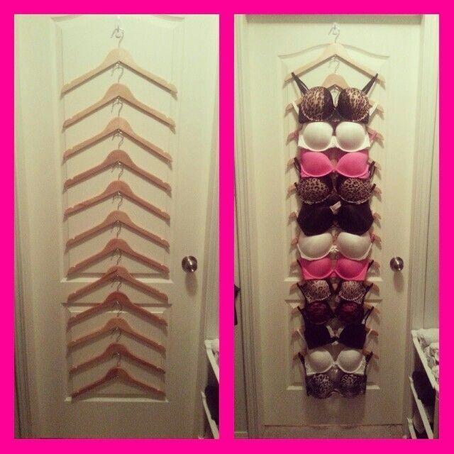20 DIY Closet Solutions | No closet solutions, Bra ...