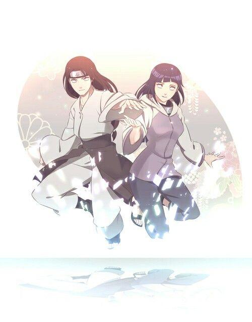 Hyuga Neji ♡ Hyuga Hinata | Neji x Hinata | NejiHina | Naruto Shippuden | Anime/Manga cute couple | OTP