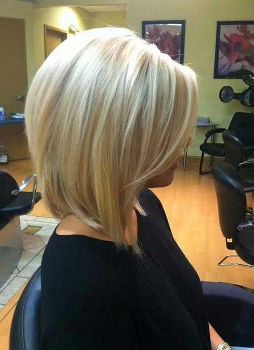 Short Haircuts for Thick Blonde Bob Straight Hair