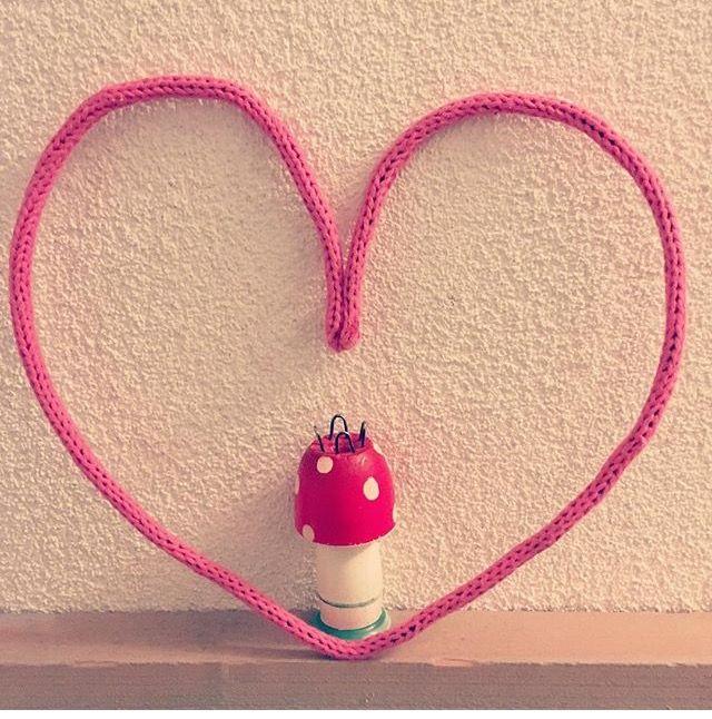 Hartje gepunnikt punniken hart heart french crochet