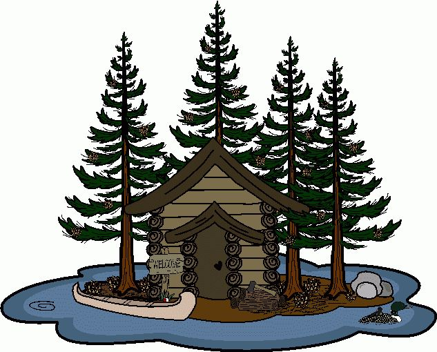 Chalet mountain clip art cliparts for Mountain flower cabin pigeon forge