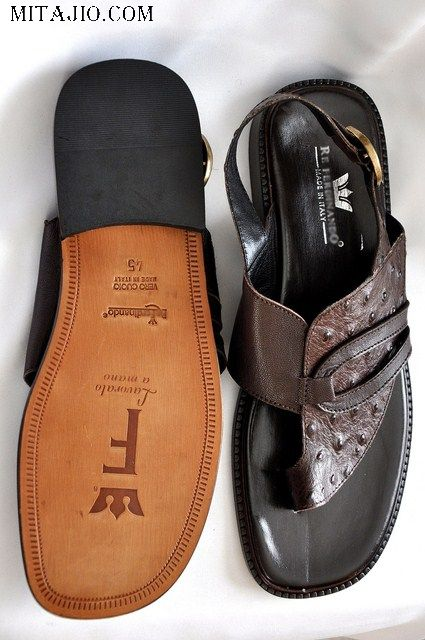 Italian+Shirts+for+Men | Brown Italian Leather Sandals