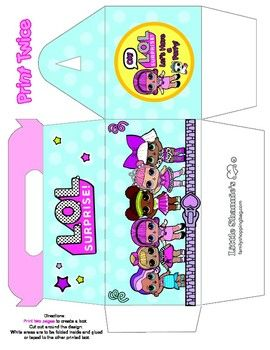 Lol Surprise Purse Favor Box Favor Box – Party Party