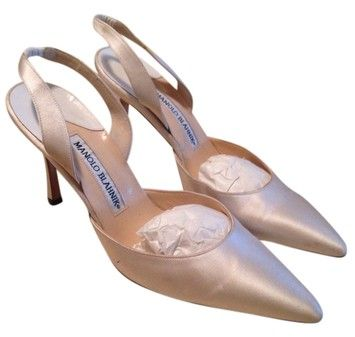 Manolo Blahnik Neutral Pumps. Get the must-have pumps of this season! These Manolo Blahnik Neutral Pumps are a top 10 member favorite on Tradesy. Save on yours before they're sold out!
