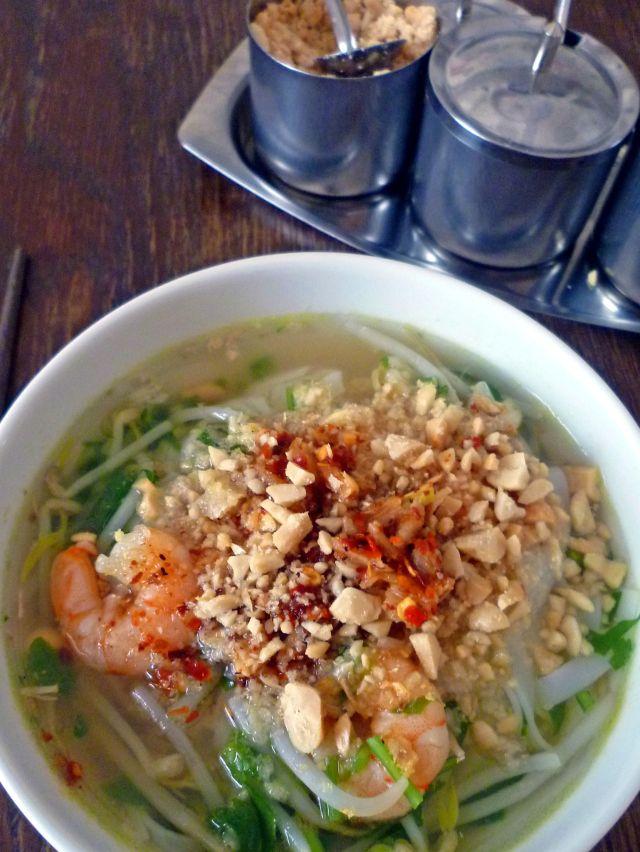 Thailändische Nudelsuppe