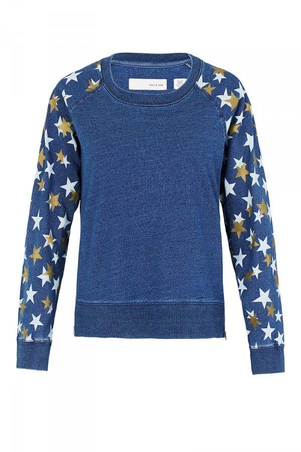 WELFARE FAIR AUD290 Cotton Sweatshirt Sass & Bide Lyda Vega Prefall 2016