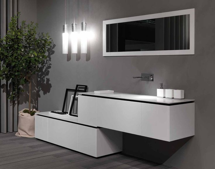 Sectional Lacquered Vanity Unit K. Find This Pin And More On RIFRA Italian  Design Bathroom ...