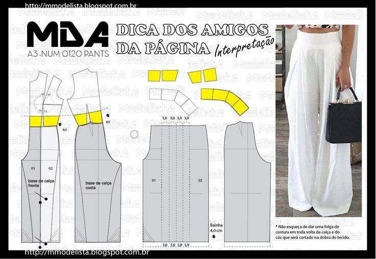 ModelistA: A4 NUM 0120 PANTS