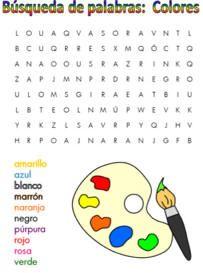 Sopa de letres colores