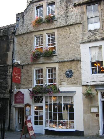 Sally Lunn's- the oldest house in Bath- I've been there for tea!  Bath, Somerset, England, UK