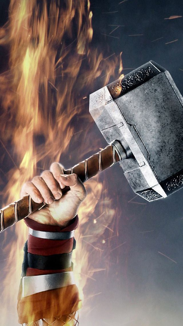iPhone 5 wallpapers HD Thor 2Dark World, Backgrounds