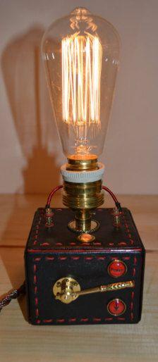 Steampunks Lamp