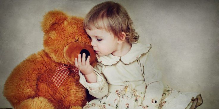 Do you still have your favorite teddy bear from your childhood? Give it a hug today! #HugABearDay
