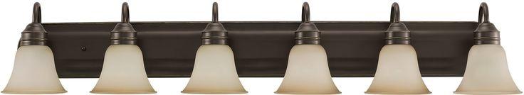 0-022081>Gladstone 6-Light Energy Star Bath Vanity Heirloom Bronze