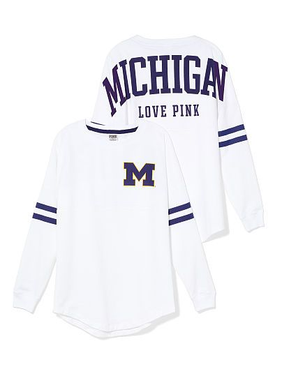 University of Michigan Varsity Crew// $50 // I want this to have forever so no matter where I live I will have some part of MI with me-and its super cute