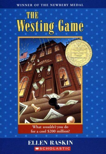 The Westing Game - My Mystery book club selection this month.