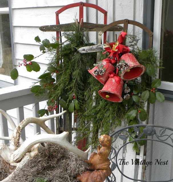 64 Best Christmas Porch Images On Pinterest Merry