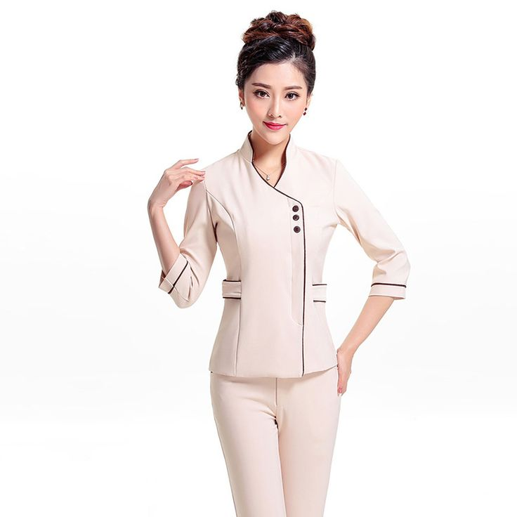 Best 25 hospital uniforms ideas on pinterest scrubs for Spa receptionist uniform design